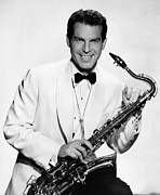 Saxophone Photos - And The Angels Sing, Fred Macmurray by Everett