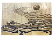 Artwork Reliefs - And the spirit of GOD hovered over the face of the water   by Barukh Shoham