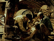 Help Paintings - And they Still Say Fish is Expensive by Joaquin Sorolla y Bastida