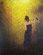 Wine Canvas Paintings - And We Danced by Bill Werle