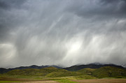 Mendoza Photos - Andean Rainstorm by David H. Collier