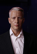 Superstar Photo Prints - Anderson Hays Cooper - CNN - Anchor - News Print by Lee Dos Santos