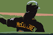 Pittsburgh Pirates Digital Art Prints - Andrew Print by Adam Barone