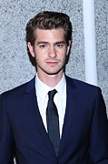 Cipriani Restaurant Wall Street Framed Prints - Andrew Garfield At Arrivals For The Framed Print by Everett
