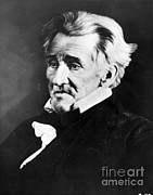 Owner Photo Prints - Andrew Jackson, 7th American President Print by Omikron