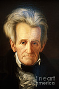 Polarizing Prints - Andrew Jackson, 7th American President Print by Photo Researchers