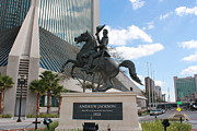 Jacksonville Art Framed Prints - Andrew Jackson Statue Framed Print by Rod Andress