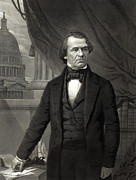 President Johnson Prints - Andrew Johnson - President of the United States of America Print by International  Images