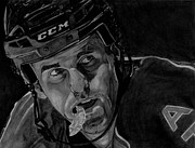 Jet Drawings Originals - Andrew Ladd by Melissa Goodrich