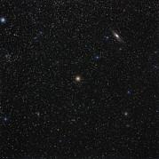 Andromeda Starfield Print by Eckhard Slawik