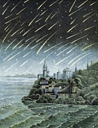 Shower Prints - Andromedid Meteor Shower Print by Science, Industry & Business Librarynew York Public Library