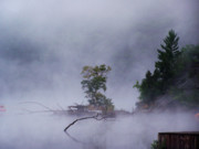 Scenics - Androscoggin River Mist I by Frank LaFerriere