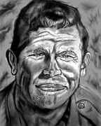 Andy Griffith Drawings - Andy by Herbert Renard