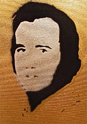 Iconic Paintings - Andy Kaufman by Tom Evans