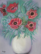 Bloom Pastels - Anemone by Almond Tree Art