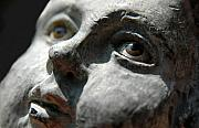 Statue Photos - Angel Eye by Dan Holm