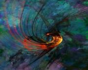 Digital Paintings - Angel from the Deep by David Lane