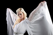Cindy Prints - Angel Goddess Print by Cindy Singleton