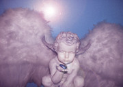Seraphim Angel Photo Metal Prints - Angel-Heart Metal Print by Ramon Labusch
