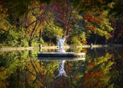 Angel Digital Art - Angel in the Lake - St. Marys Ambler by Bill Cannon