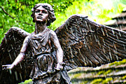 Human Being Photo Originals - Angel in The rain by Rick Adkins