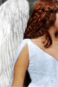Angelic Posters - Angel  Poster by Jill Battaglia