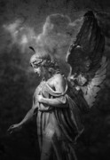 Gloomy Prints - Angel Print by Marc Huebner