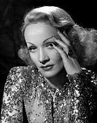 Long Fingernails Framed Prints - Angel, Marlene Dietrich, 1937 Framed Print by Everett