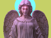 Hierarchy Mixed Media Posters - Angel of Devotion No. 04 Poster by Ramon Labusch