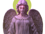 Seraphim Angel Art - Angel of Devotion No. 08 by Ramon Labusch