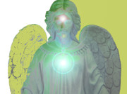 Seraphim Angel Art - Angel of Devotion No. 10 by Ramon Labusch