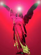 Seraphim Angel Mixed Media Posters - Angel of Harmony No. 04 Poster by Ramon Labusch
