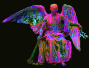 Seraphim Angel Mixed Media - Angel of Justice No. 01 by Ramon Labusch