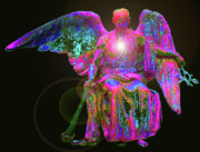 Seraphim Angel Mixed Media - Angel of Justice No. 02 by Ramon Labusch