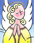 Angel Prints - Angel of Peace Print by Renee Womack