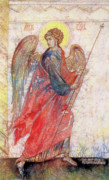 Byzantine Painting Posters - Angel Poster by Tanya Ilyakhova