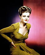 Lansbury Framed Prints - Angela Lansbury, 1940s Framed Print by Everett