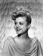 Updo Photo Posters - Angela Lansbury, 1945 Poster by Everett