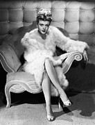 Lansbury Framed Prints - Angela Lansbury, 1946 Framed Print by Everett