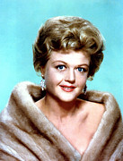 Earrings Photo Posters - Angela Lansbury, Portrait Poster by Everett