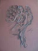 Angelica Print by Vanderbill King
