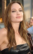 Jolie Framed Prints - Angelina Jolie At Arrivals For Premiere Framed Print by Everett