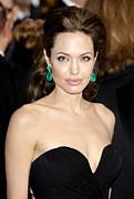 Angelina Jolie Print by Nina Prommer