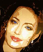 Angelina Print by Richard La Valle