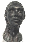 Girl Sculptures - Angelique by Tina Hariu