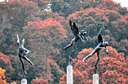 Fairmount Park Prints - Angels Print by Bill Cannon