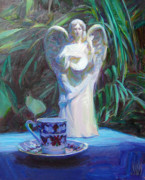 Outdoor Still Life Paintings - Angels Cup of  Tears by John Kilroy
