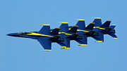 Jeff Murphy - Blue Angels - Lined Up