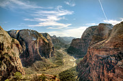 Zion National Park Photos - Angels Landing - Zion National Park by Bryant Scannell