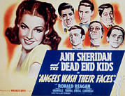 Dell Photo Acrylic Prints - Angels Wash Their Faces, Ann Sheridan Acrylic Print by Everett